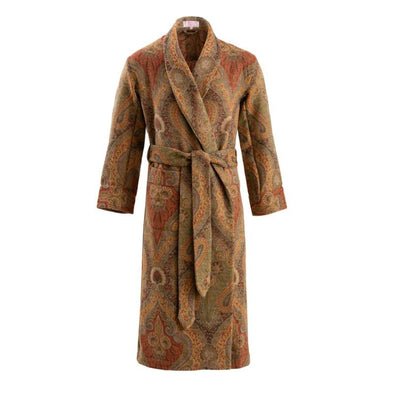 EMMA WILLIS ANTIQUE PAISLEY DRESSING ROBE