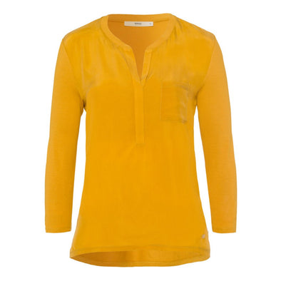 BRAX WOMENS CLARISSA SHIRT- HONEY