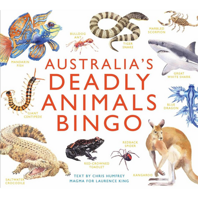 DEADLY ANIMALS BINGO -