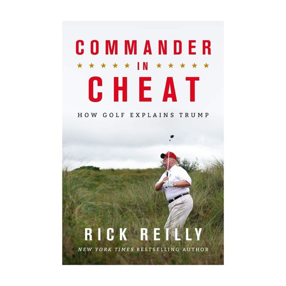 COMMANDER IN CHEAT: TRUMP BOOK