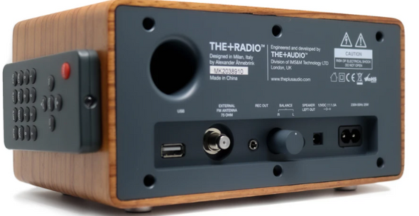 THE +RADIO DAB+ WITH BLUETOOTH (Online only)