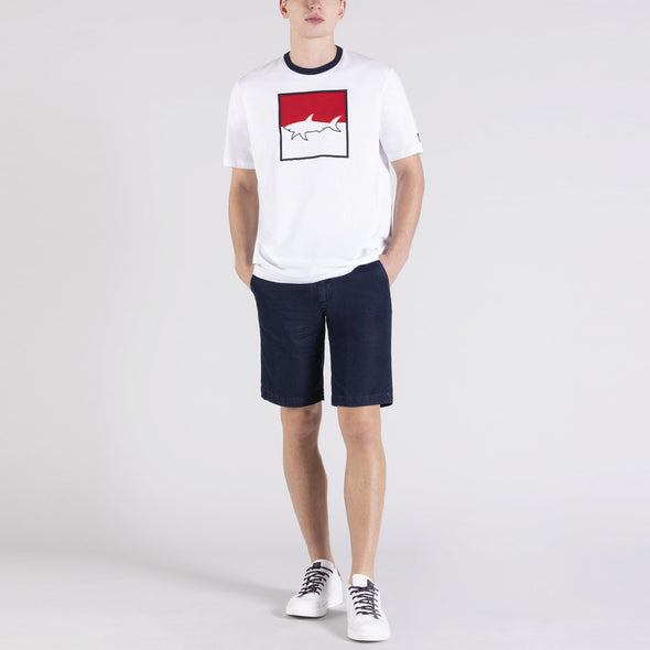 PAUL & SHARK SHARK PRINT T-SHIRT