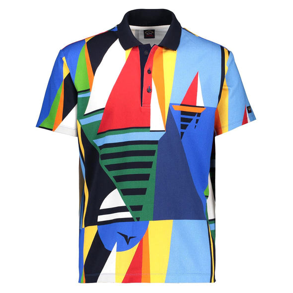 Paul & Shark SAIL PRINT POLO