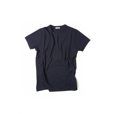 FRADI CREW NECK T-SHIRT BLUE/NAVY