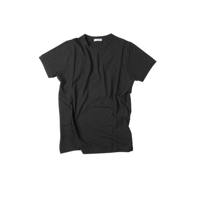 FRADI CREW NECK T-SHIRT BLACK
