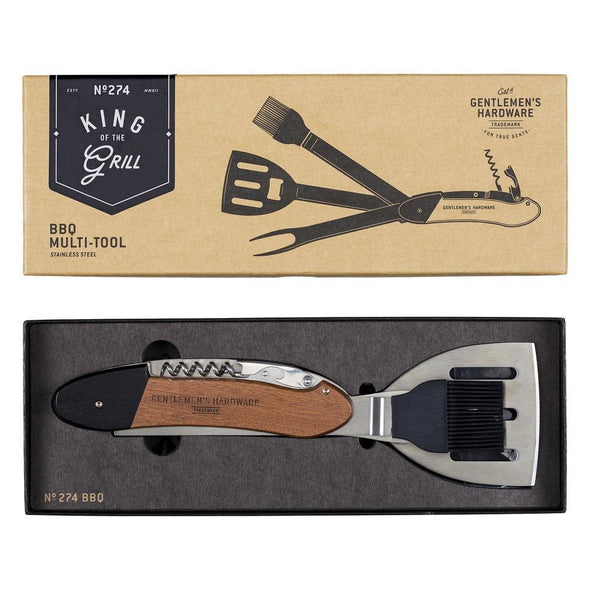 BBQ MULTI TOOL STAINLESS STEEL