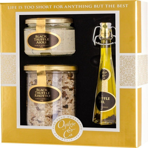 GOLD & WHITE TRUFFLE SET