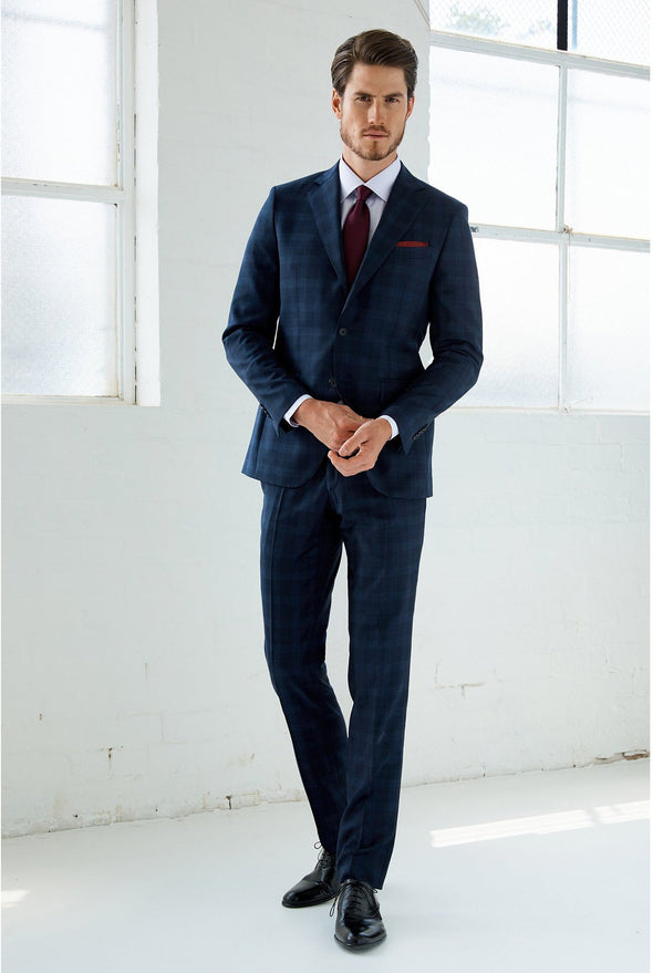 HENRY SARTORIAL CHECK SUIT