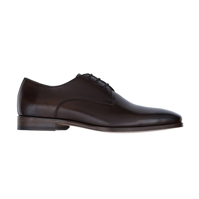 HENRY SARTORIAL JAKE TOE DERBY DARK BROWN