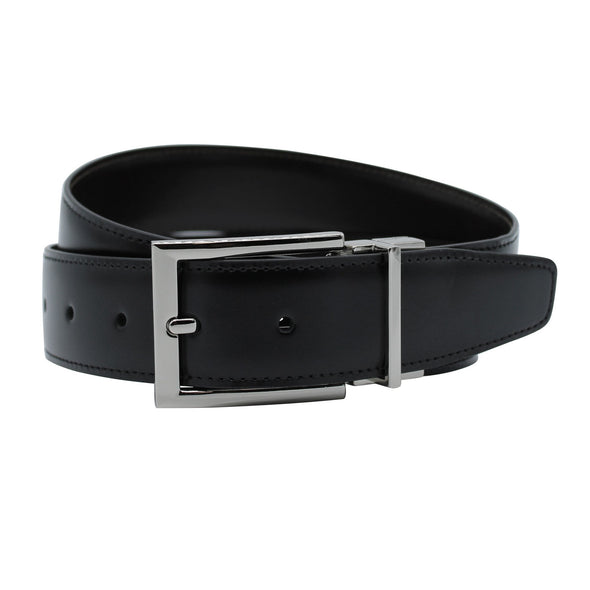 Henry  Reversible Belt BLACK/TAN