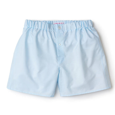 EMMA WILLIS ICE BLUE SUPRIOR COTTON BOXER