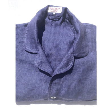 EMMA WILLIS IND-INK PYJAMA BLUE GREY (Online Only)