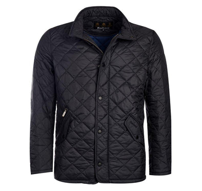 BARBOUR CHELSEA FLYWEIGHT JACKET - BLACK