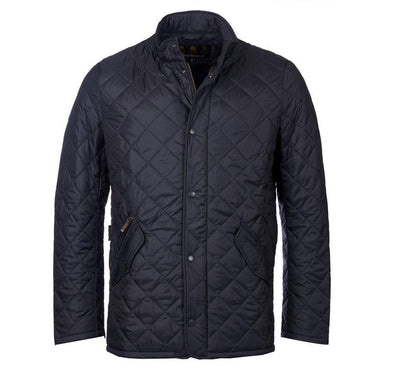 BARBOUR CHELSEA FLYWEIGHT JACKET - NAVY