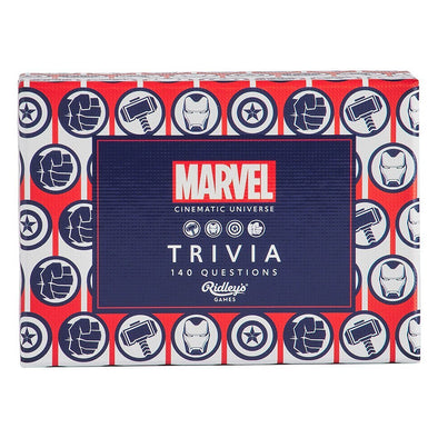 MARVEL QUIZ  (Available end Oct 2020)