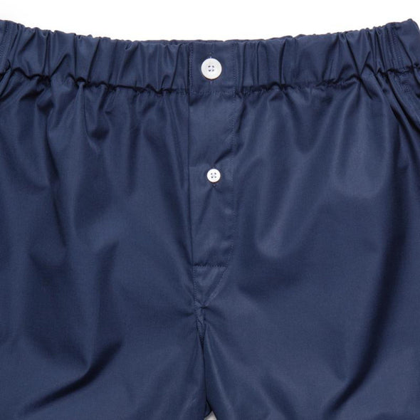 EMMA WILLIS NAVY COTTON BOXER SHORT