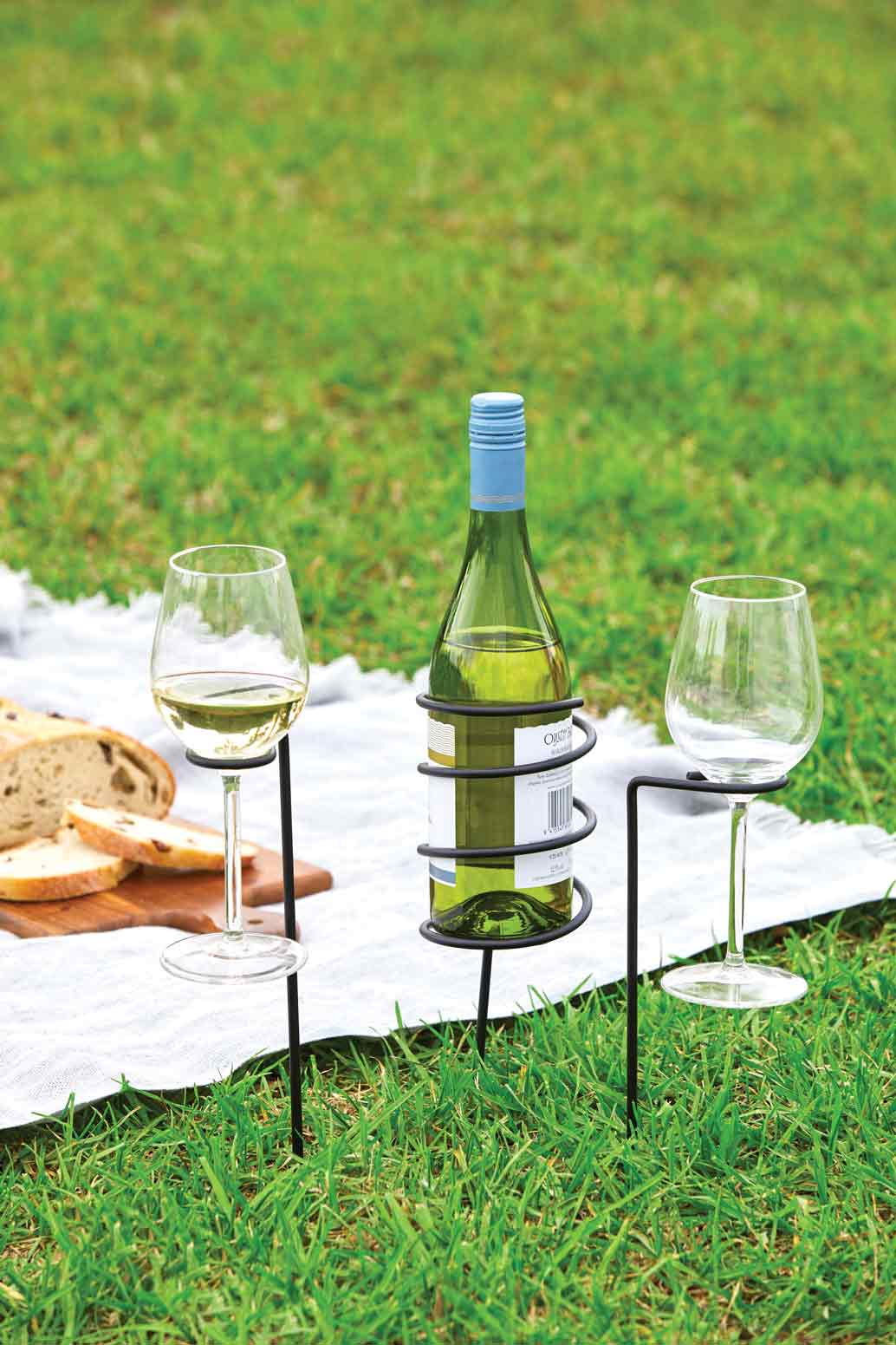 3 PIECE PICNIC WINE SET