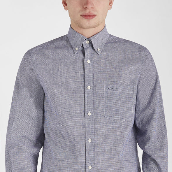 Paul & Shark LINEN-COTTON SHIRT