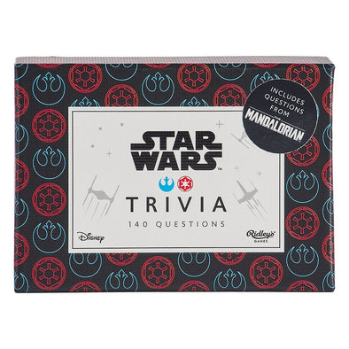 STAR WARS QUIZ  (Available end Oct 2020)