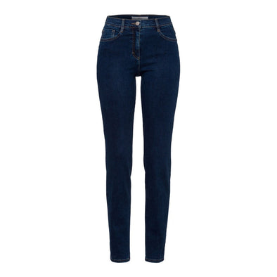 BRAX WOMENS SHAKIRA 5-POCKET JEAN- DARK BLUE