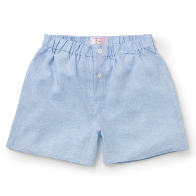 EMMA WILLIS SKY B BOXER SHORTS SKY BLUE (Online Only)