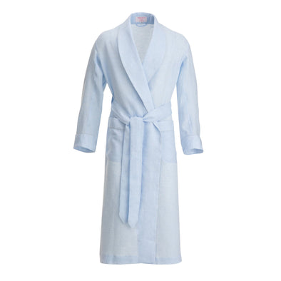 EMMA WILLIS SKY LINEN GOWN SKY (Online Only)