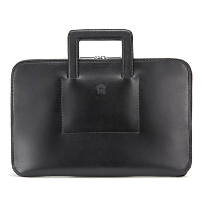 TUSTING WESTMINSTER HANDLED FOLIO BLACK