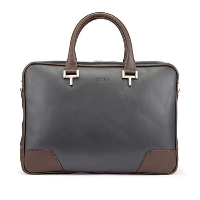 TUSTING MORTIMER BAG PEWTER