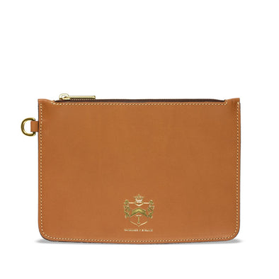 TUSTING ZIP POUCH SET TAN