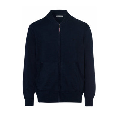 BRAX JOSHUA FULL ZIP KNIT OCEAN