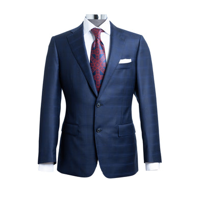 HENRY SARTORIAL NOTCH SUIT NAVY