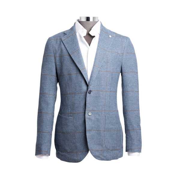 LBM 1911 H-TOOTH CHECK BLAZER