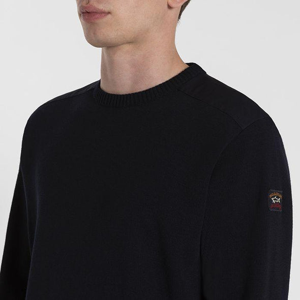 PAUL & SHARK MARINE CREW NECK PULLOVER