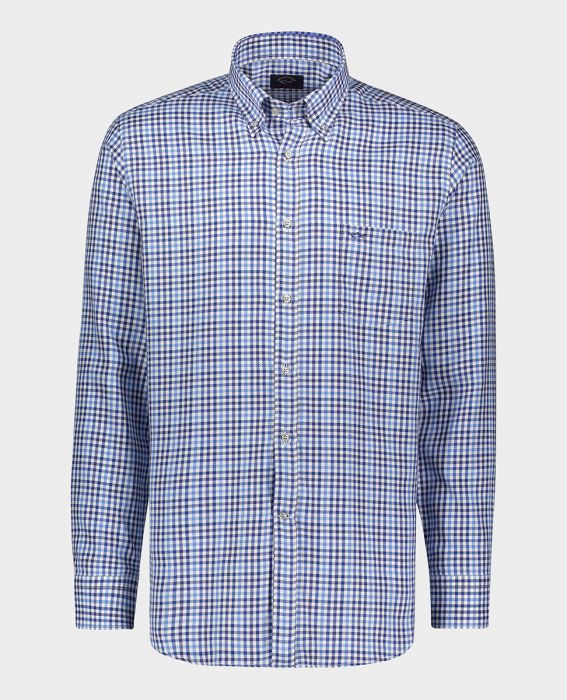 PAUL & SHARK TWILL CHECK SHIRT