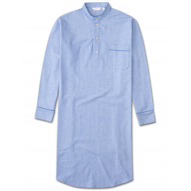 DEREK ROSE FLANNEL NIGHTSHIRT