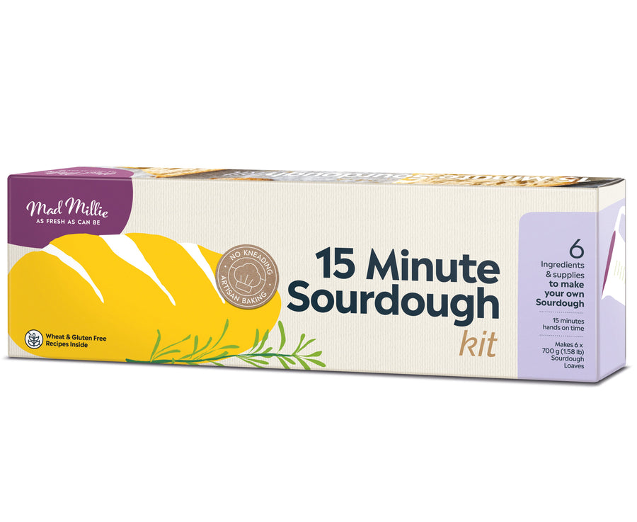 MAKE YOUR OWN SOURDOUGH BREAD KIT
