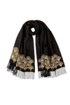 JOHNSTONS SCALLOP LADIES STOLE