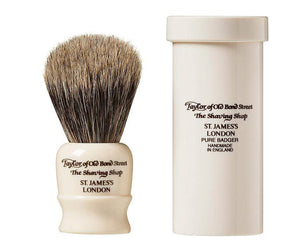 TAYLORS OF OLD BOND STREET TRAVEL SHAVING BRUSH
