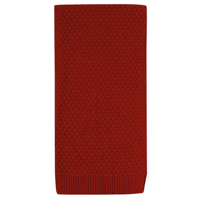 ROBERT MACKIE CASSLEY SCARF RED