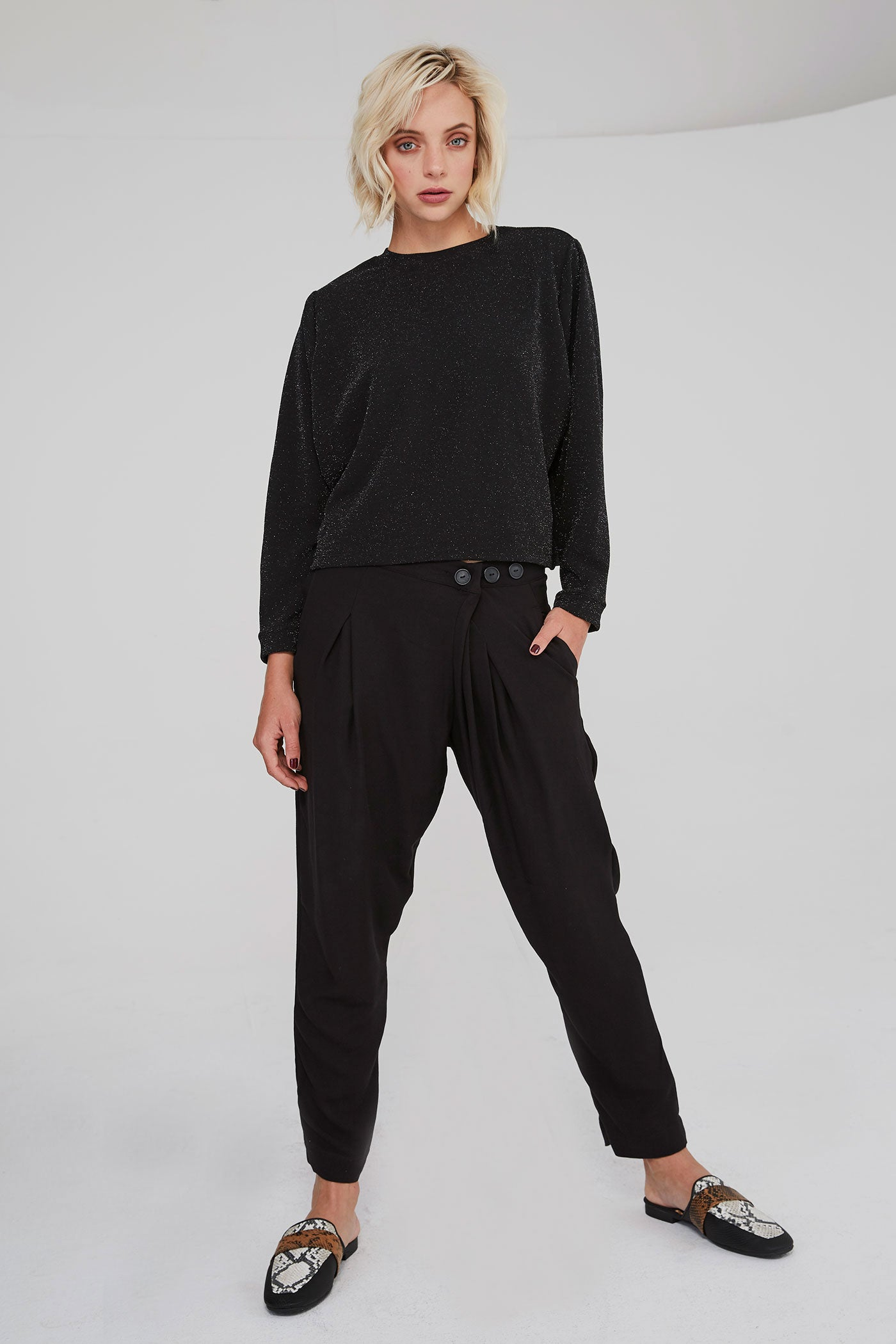 Mumbai Pants - Black