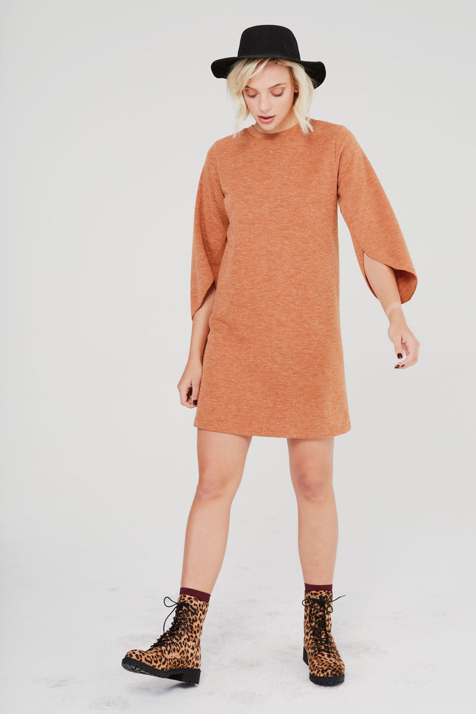 Coney Dress - Rust