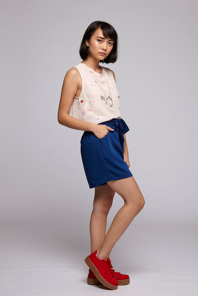 Smarty Shorts - Navy