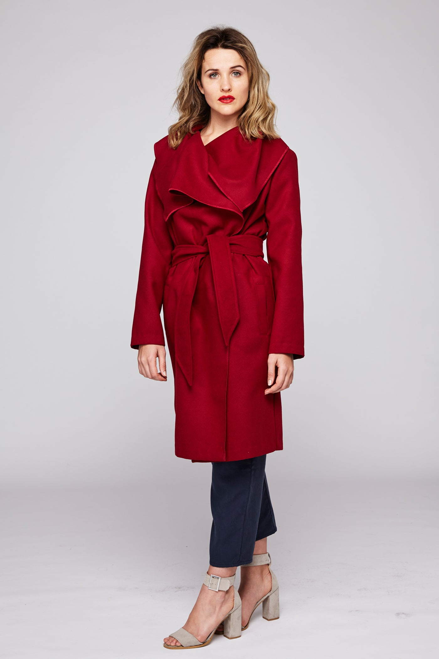 The Coat - Burgundy