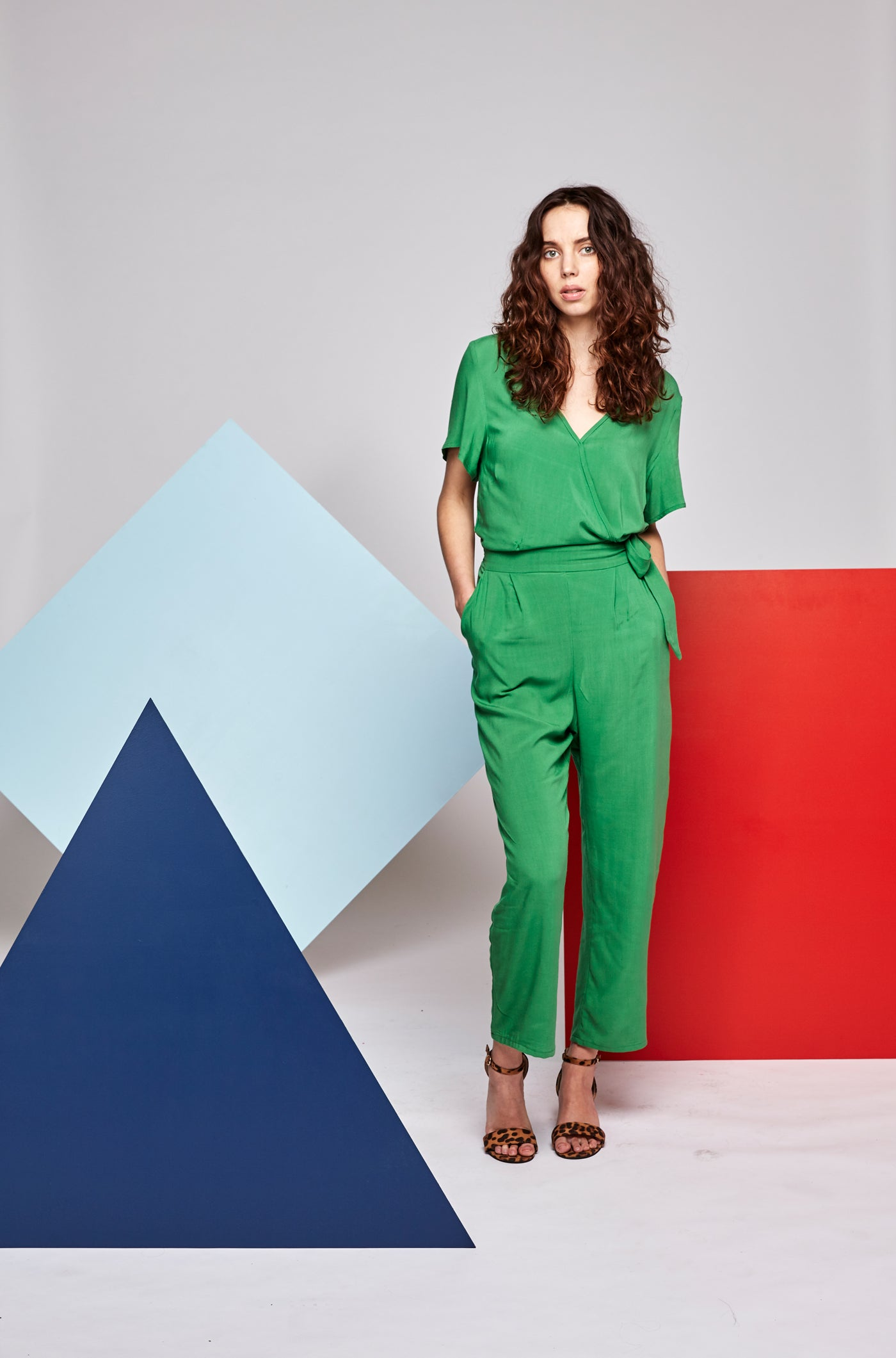 Bella Jumpsuit - Green