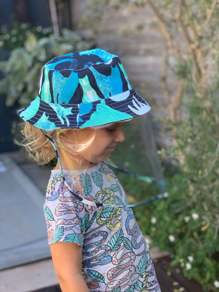 Kids Hat - Blue Cats (Pre-order)