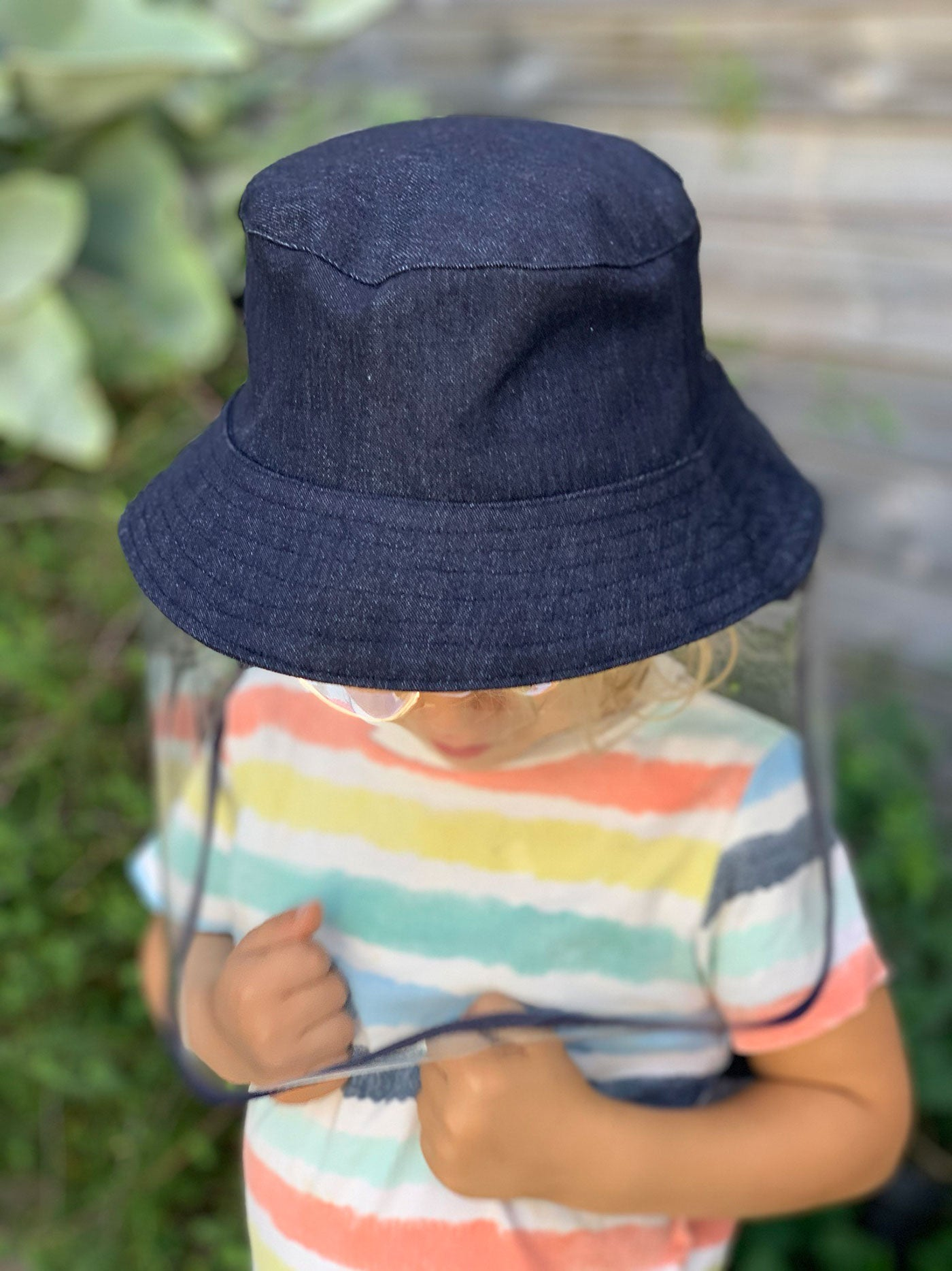Kids Hat - Dark Denim (made to order)