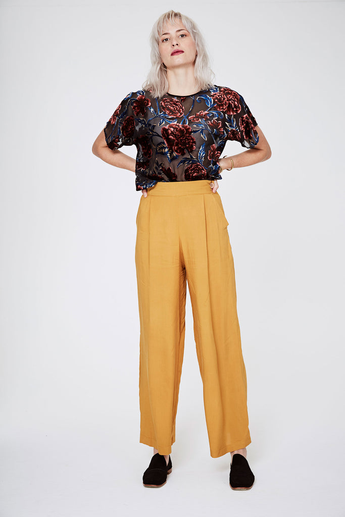 Wide Pants - Red