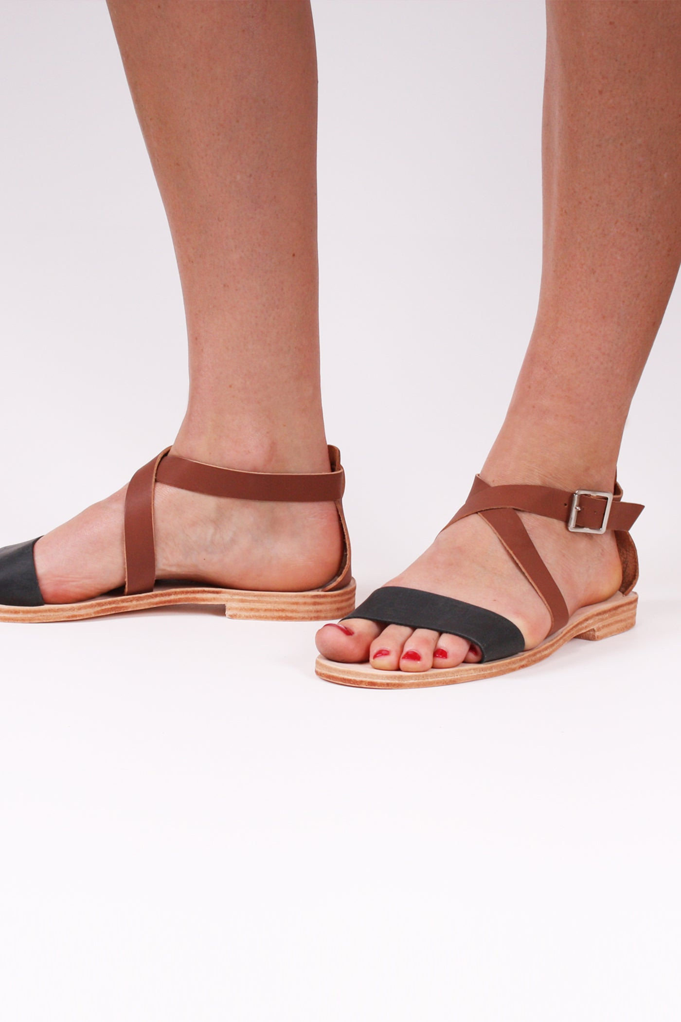 Goodie-Two-Shoes Holiday Sandals (sizes available: 7)