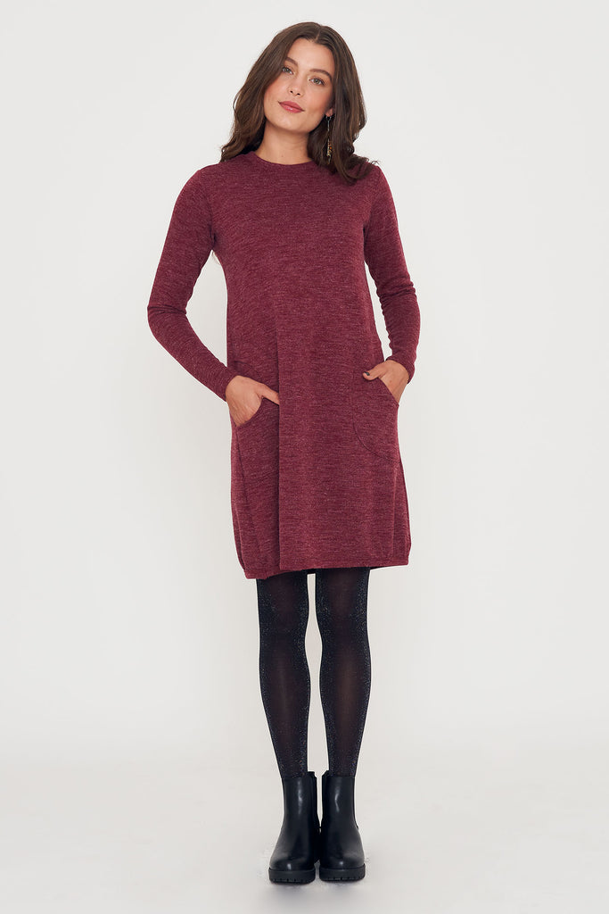 Patsy Dress - Wine