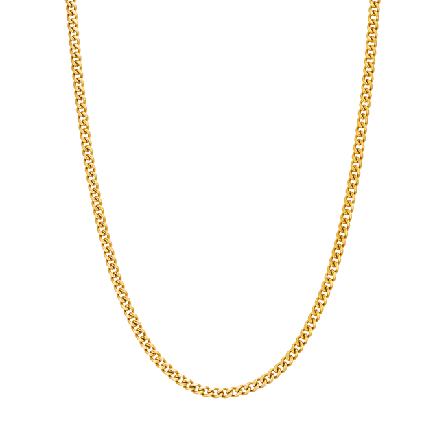 3mm Cuban Link Chain - Her Fashion Muse